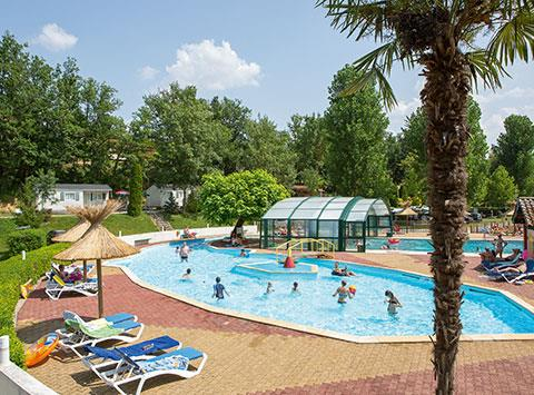 Camping le Talouch, Roquelaure, Gers