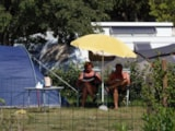 Pitch - Nature Package Without Electricity (1 Tent, Caravan Or Motorhome / 1 Car) - Flower Camping Domaine de Gajan