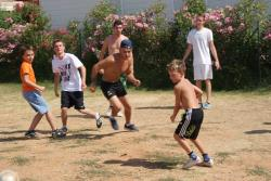 Sport activities Flower Camping Domaine De Gajan - Boisseron