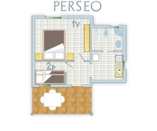 Bungalow Perseo