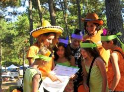 Entertainment organised Plein Air Locations - Camping  Le Vivier - Biscarrosse Plage