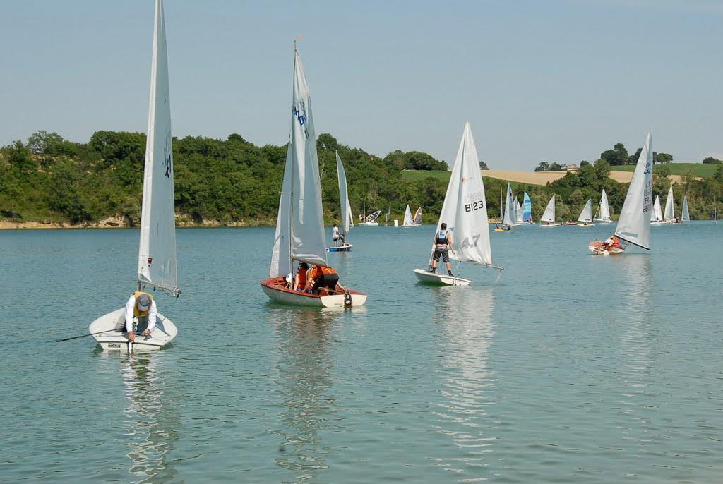 Sport activities Camping Lac de Thoux St-Cricq - THOUX
