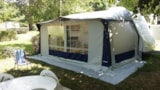 Rental - Caravan With Awning. No Shower / No Toilet. Up To 2 People - Camping le Grand Cerf