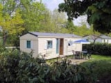 Rental - Standard Mobile home with terrace, 2 bedrooms - Camping le Grand Cerf