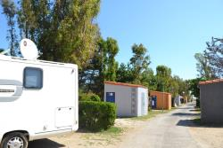 Camping Pitch With Sanitary Facilities See Side
