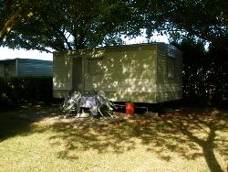 Mobile home 17m² without toilet block + terrace
