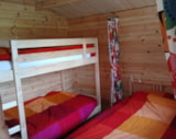 Rental - Chalet 'Bonne Route', cosy chalet from 15 m2, for 4 persons - Camping Sites et Paysages AU BOIS JOLI