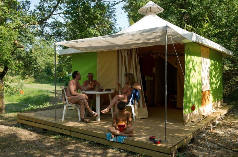 Canvas bungalow - Furnished tent