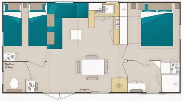 Mobile Home Deluxe Confort Plus 48 Bedrooms 48 Bathroom Delectable Mobile Bathroom Rental Plans