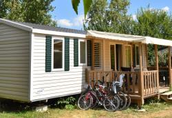 Mobile Home Deluxe Octalia - 3 Bedrooms / 1 Bathroom + Air Conditioning