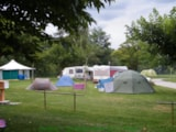 Pitch - Pitches +camping-car - Camping Les Eychecadous