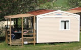 Rental - Mobile Home Confort + 30M² (2 Bedrooms) + Sheltered Terrace - Camping du Lac