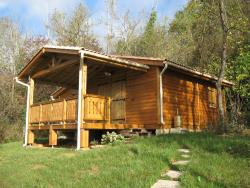 Wooden Chalet  Confort + 35 m² (2 bedrooms) + sheltered terrace
