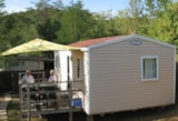 Rental - Mobile Home Eco 25M²  (2 Bedrooms) + Terrace  - Without Bathroom - Camping du Lac