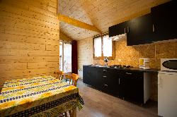 Chalet in legno 24 m² (2 camere)