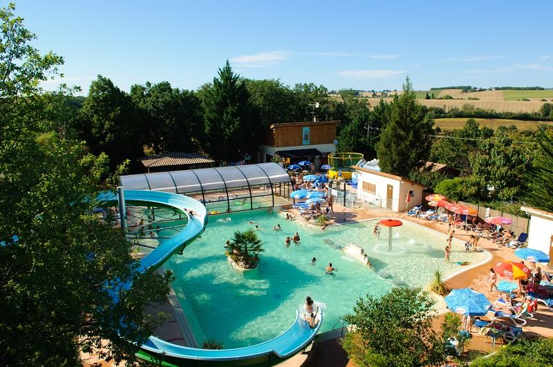 Mare, piscina Camping Sites et Paysages ARAMIS - MARSAN