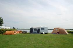 Pitch near the water small tent max. 5 m²