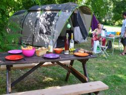 Pitch - Pitch NATURE tent or caravan (100-200m²) - Camping Le Petit Lion des Tourbières