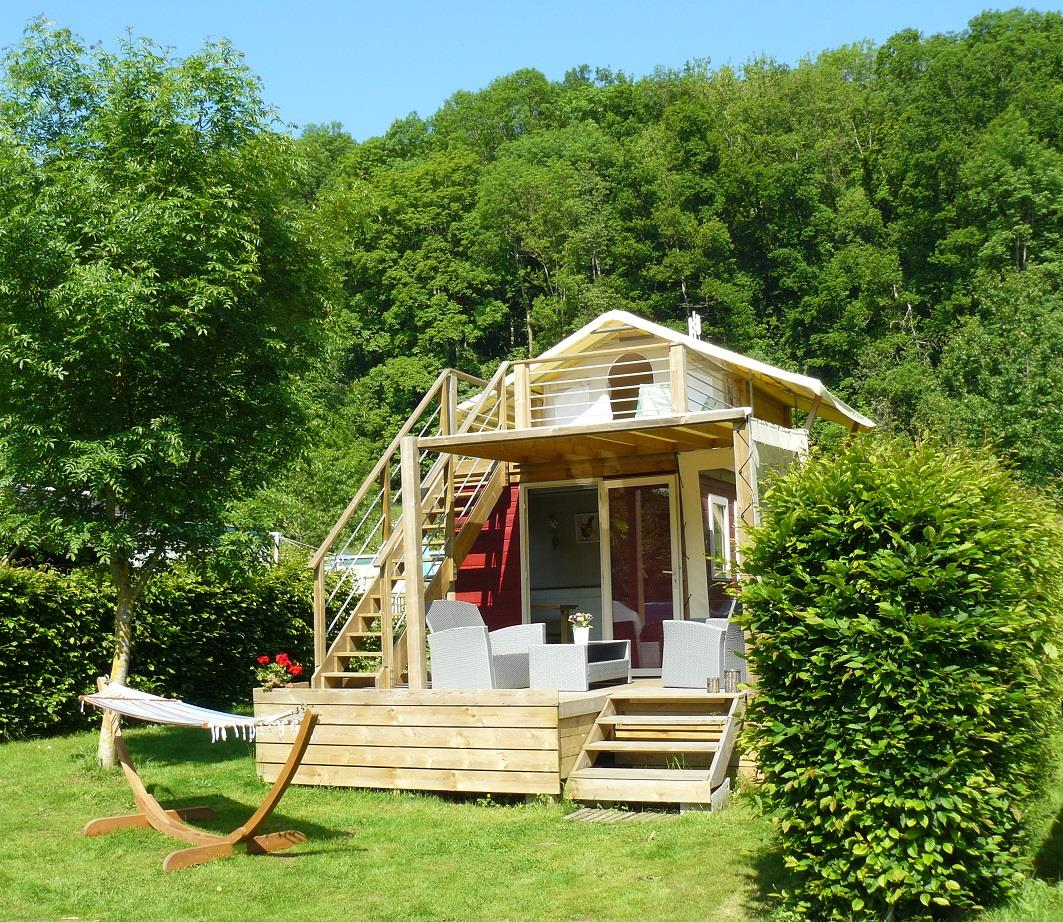Chalet CAMPAGNE 24m² / 2 chambres - Terrasse
