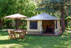 Accommodation - Pitrou - CAMPING DE LA CLAIRETTE