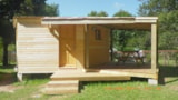 Rental - Wooden Hut  Confort  25 M² (2 Bedrooms) + Sheltered Terrace + Tv - Without Toilet Blocks - Flower Camping Les Vernières