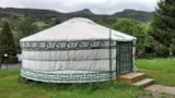 Rental - Mongolian Yurt Confort 35 M² Without Toilet Blocks - Flower Camping Les Vernières