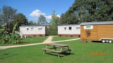 Rental - Mobile-home 29.20 m² - 2 bedrooms - Camping Le Renom