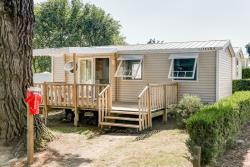 Mobile home Confort + 31 m² + terrace - 3 bedrooms