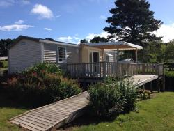Mobile home 29m² (2 bedrooms) + terrace Wheelchair friendly