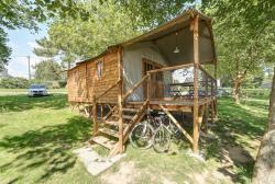 Cabin Lodge  Confort + 38m² (2 bedrooms) sheltered terrace 8m²