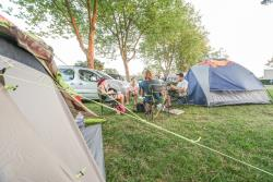 Pitch Trekking Package by foot or by bike with tent without electricity
