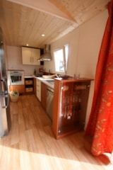 Rental - CONFORT+ Chalet 40m² (2 bedrooms) + sheltered terrace - Flower Camping du Lac de La Chausselière