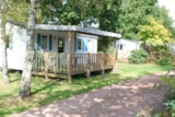 Rental - ECO Mobile home O'Hara 28m² (2 bedrooms) + sheltered terrace - Flower Camping du Lac de La Chausselière