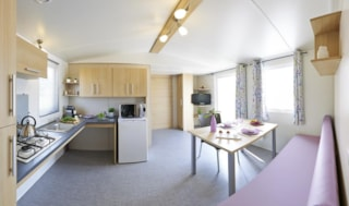 CONFORT+ Mobile home 36m² Wheelchair friendly (2 bedrooms) + covered terrace