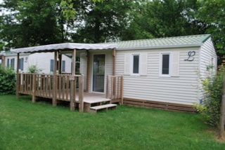 ECO Mobile home Louisiane 28m² (2 bedrooms) + sheltered terrace