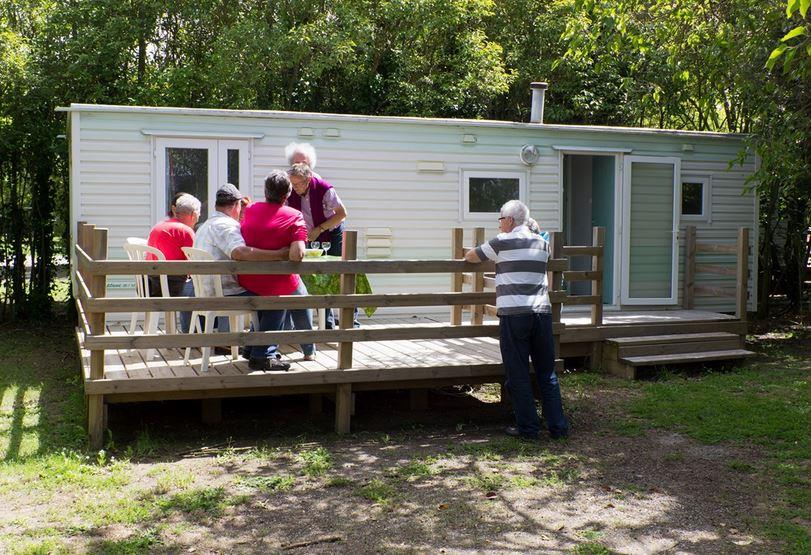 Locatifs - Mobil-Home Neptune - Camping Durance Luberon