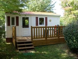Location - Mobil Home Cerise 42 - CAMPING LA COMBE D'OYANS