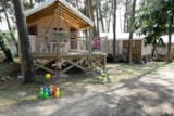 Rental - Sahari Lodge Eco - 19m² -  2 bedrooms without toilet - Camping le Fort Espagnol