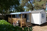 Rental - Mobile home Acacia Confort 28m² - 2 rooms +sheltered terrace (saturday) - Camping le Fort Espagnol