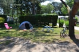 Pitch - Pitch Trekking Package by foot or by bike with tent - Camping le Fort Espagnol