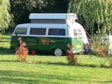 Pitch - Comfort Package (1 tent, caravan or motorhome / 1 car / electricity 10A) - Domaine de Kervallon