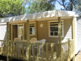 Rental - Cottage Blue Lagon3 Comfort, Arrival on Saturday (*Only in High Season) - CAP TAILLAT CAMPING