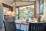 Rental - Comfort Chalet Nemo, Arrival on Saturday * (*only in high season) - CAP TAILLAT CAMPING