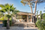 Rental - Comfort Chalet Morea, Arrival on Saturday * (* only in high season) - CAP TAILLAT CAMPING