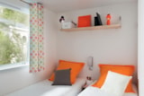 Rental - Cottage Blue Lagon2 Premium, Arrival on Saturday (* Only in High Season) - CAP TAILLAT CAMPING