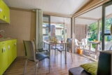 Rental - Comfort Chalet Morea, Arrival on Sunday * (* only in high season) - CAP TAILLAT CAMPING