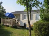 Rental - Mobilhome Confort 25M² - 2 Rooms + Half-Covered Terrace - Flower Camping Le Haut Dick