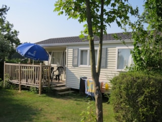 Mobilhome Confort 25M² - 2 Rooms + Half-Covered Terrace
