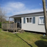 Rental - Mobilhome CONFORT 35m² - 3 bedrooms + half-covered terrace - Flower Camping Le Haut Dick