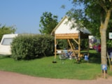 Rental - Tent Bivouac On Piles Eco 5M² - 1 Bedroom - Without Toilet Blocks - Without Electricity - Flower Camping Le Haut Dick